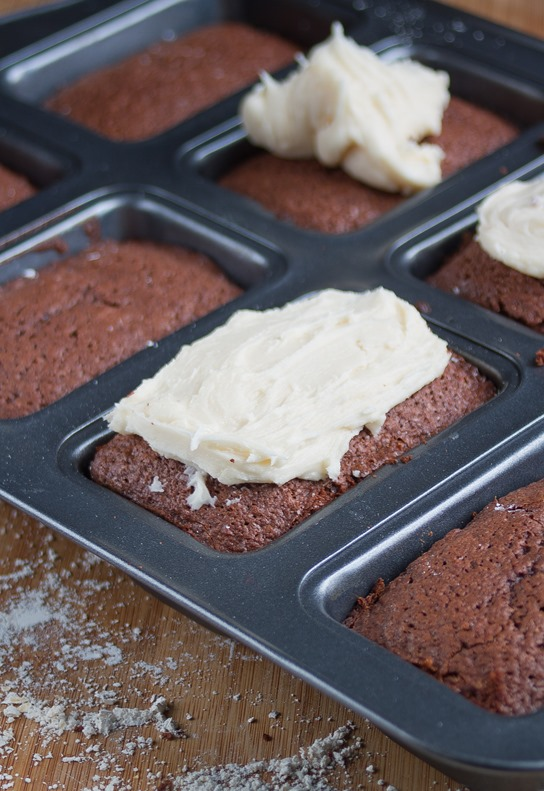 Bailey's Frosted Brownies