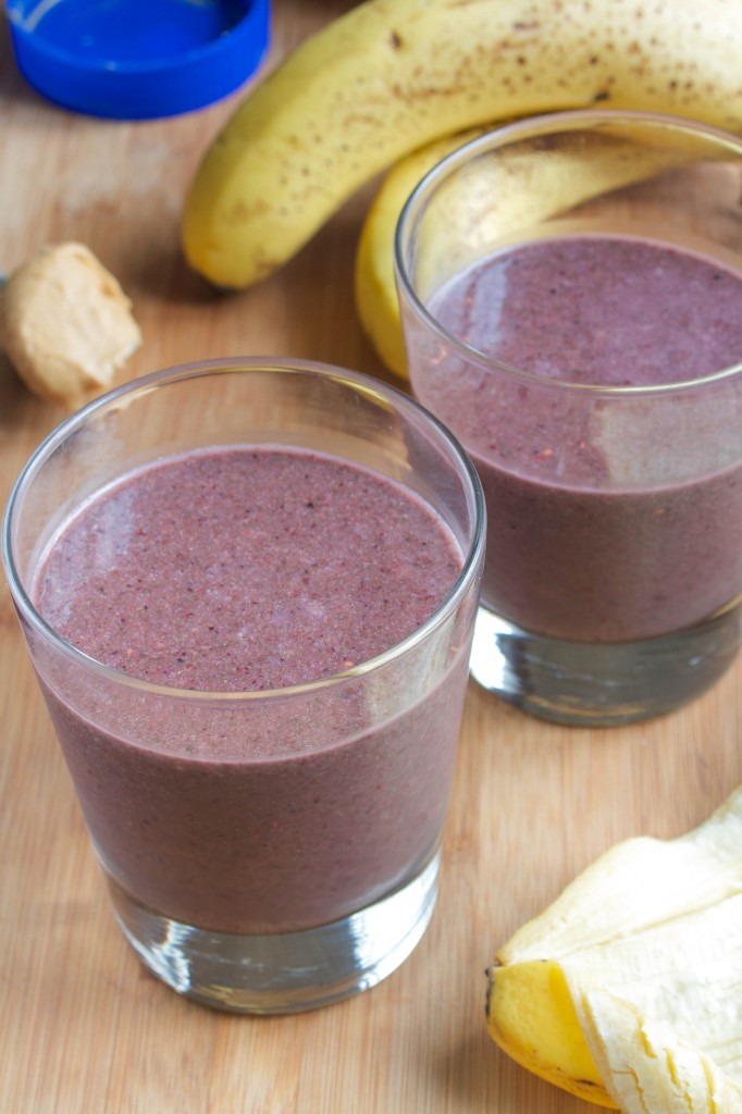 Vegan PB & J Smoothie