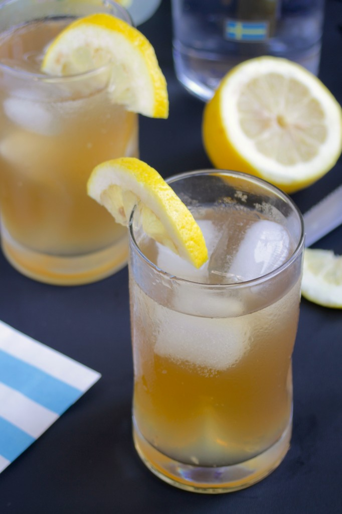 Sweet Tea Vodka Lemonade | The Wannabe Chef
