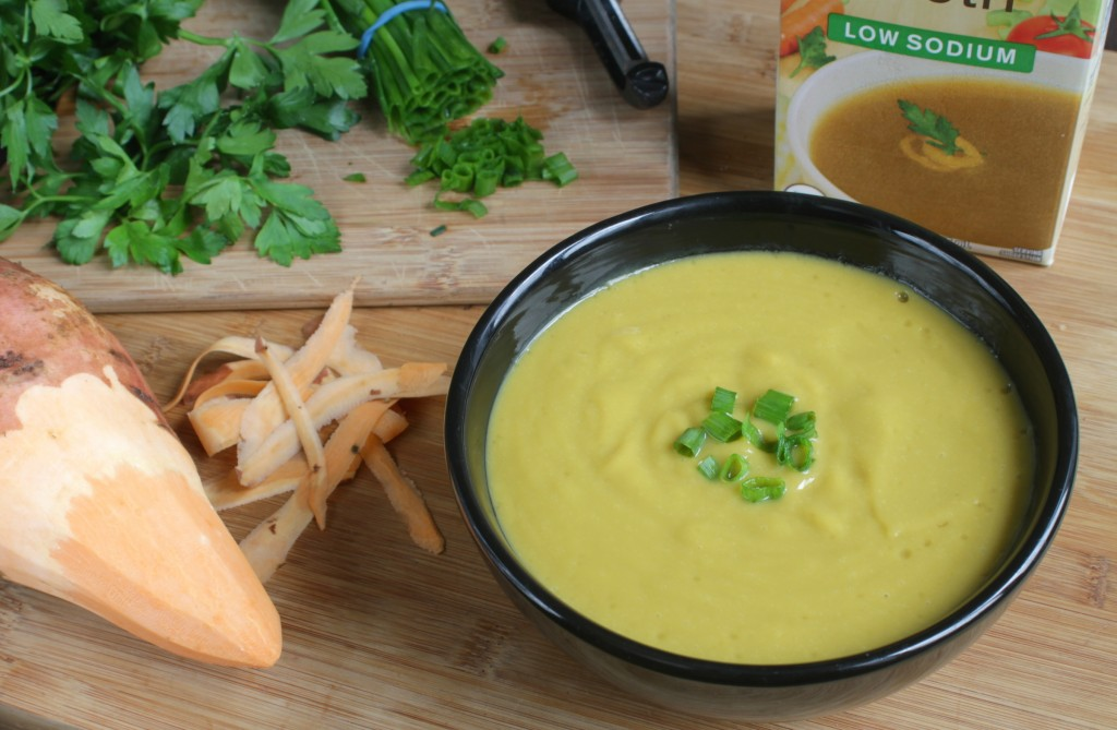Fat-Free Sweet Potato Soup