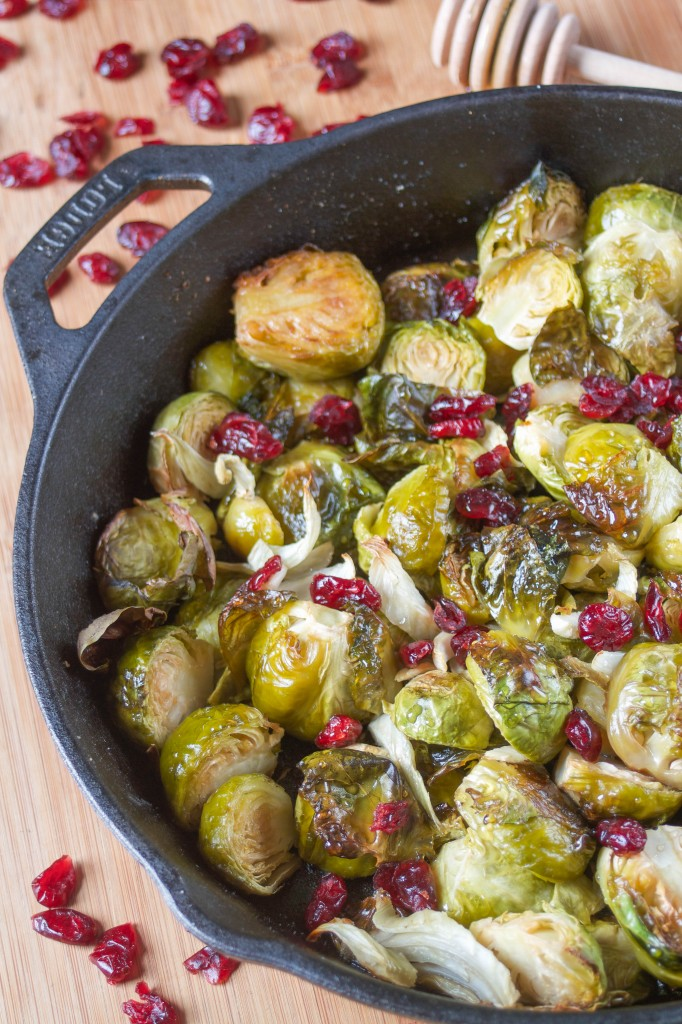 Fennel Roasted Brussels Sprouts