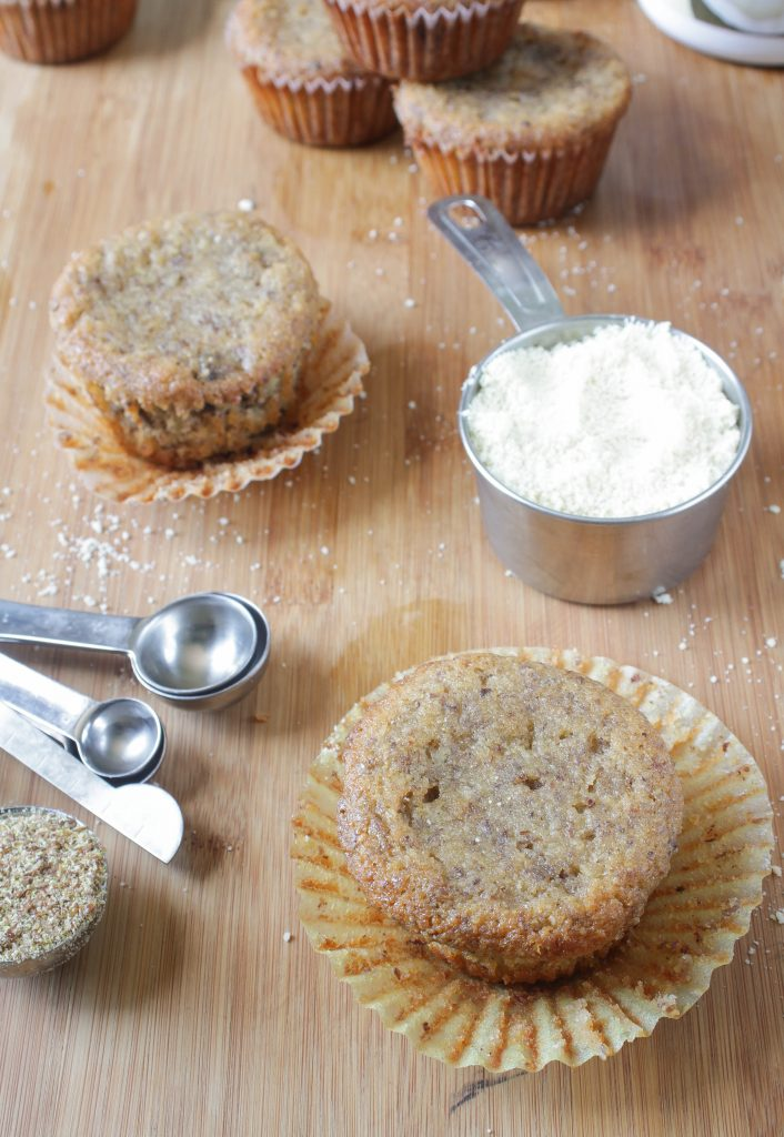 Hearty Grain-Free Chocolate Chip Muffins